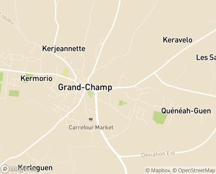 Localisation Centre Communal d'Action Sociale - 56390 - Grand-Champ