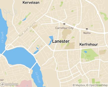 Localisation Centre Communal d'Action Sociale - 56600 - Lanester