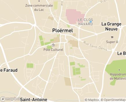 Localisation Centre Communal d'Action Sociale - 56800 - Ploërmel