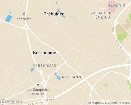 Localisation Direction Générale des Interventions Sanitaires et Sociales - 56035 - Vannes