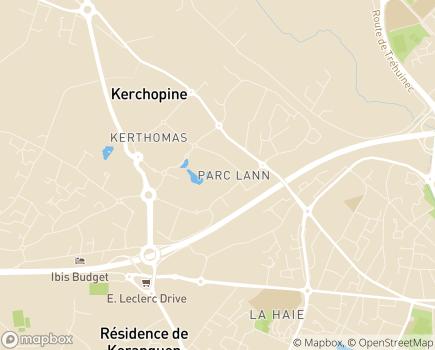 Localisation ADMR Fédération du Morbihan - 56004 - Vannes