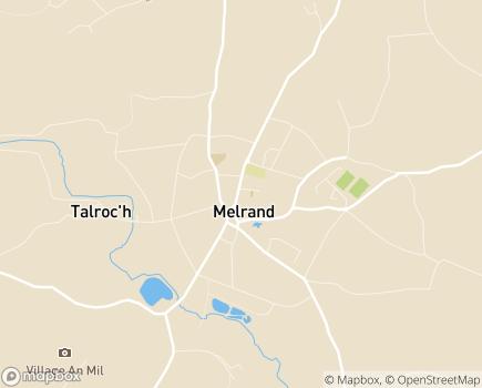 Localisation Centre Communal d'Action Sociale - 56310 - Melrand