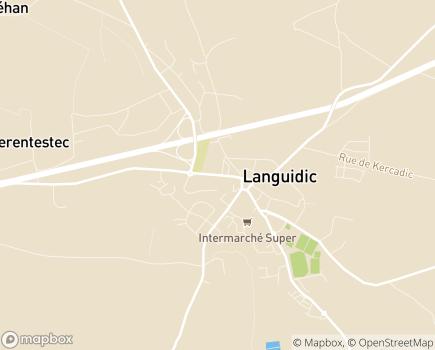 Localisation Centre Communal d'Action Sociale - 56440 - Languidic
