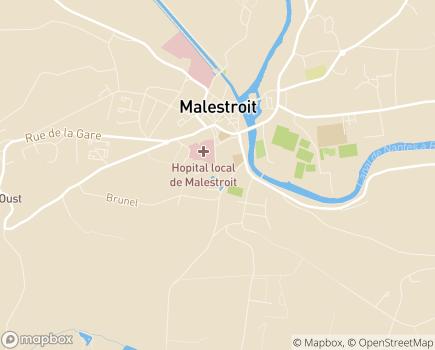 Localisation Centre Communal d'Action Sociale - 56140 - Malestroit