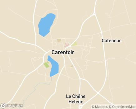Localisation Centre Communal d'Action Sociale - 56910 - Carentoir
