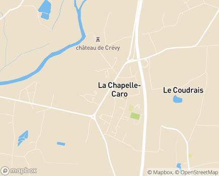 Localisation Centre Communal d'Action Sociale - 56460 - La Chapelle-Caro