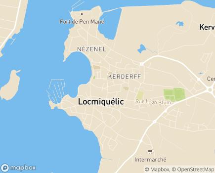 Localisation Centre Communal d'Action Sociale - 56570 - Locmiquélic