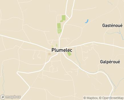 Localisation Centre Communal d'Action Sociale - 56420 - Plumelec