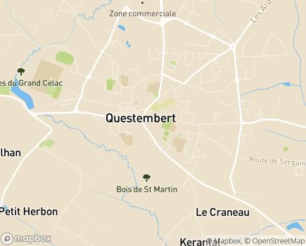 Localisation Centre Communal d'Action Sociale - 56230 - Questembert