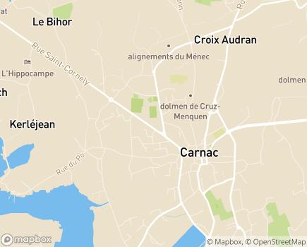 Localisation Centre Communal d'Action Sociale - 56340 - Carnac
