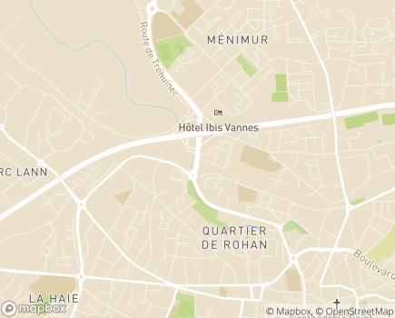Localisation Protection Judiciaire de la Jeunesse - 56000 - Vannes