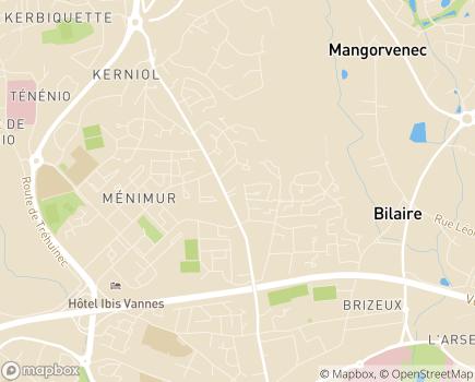 Localisation Age d'Or Services - 56000 - Vannes