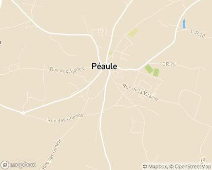 Localisation Centre Communal d'Action Sociale - 56130 - Péaule