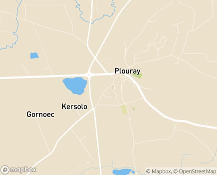 Localisation Centre Communal d'Action Sociale - 56770 - Plouray