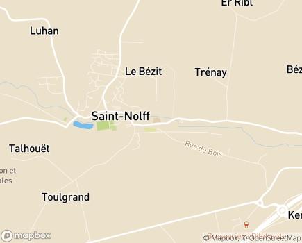 Localisation ADMR Pays de l'Argoet - Certifé AFNOR - 56250 - Saint-Nolff