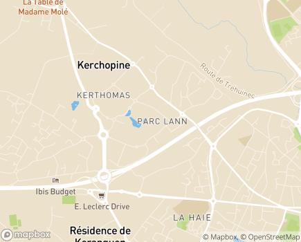 Localisation ADMR Vannes Serian (Service Itinérant Aide Nocturne) - 56005 - Vannes
