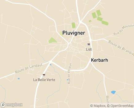 Localisation Centre Communal d'Action Sociale - 56330 - Pluvigner