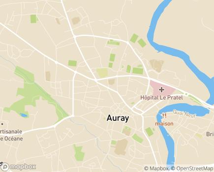 Localisation Générale des Services Auray - 56400 - Auray