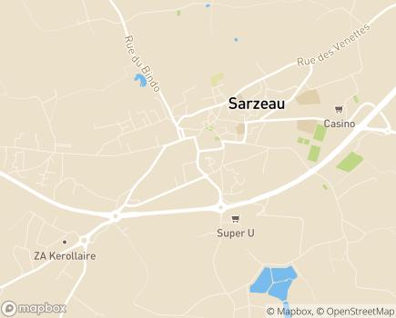 Localisation ADMR de Rhuys - 56370 - Sarzeau