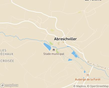 Localisation Centre de Réadaptation Spécialisé Saint-Luc - 57560 - Abreschviller