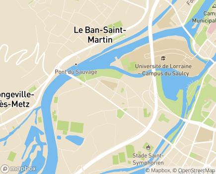 Localisation Résidence EHPAD Marie-Noëlle - Amapa - 57050 - Longeville-lès-Metz