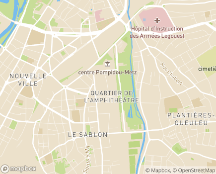 Localisation ARS Agence Régionale de Santé Grand Est - Délégation Territoriale de Moselle - 57045 - Metz