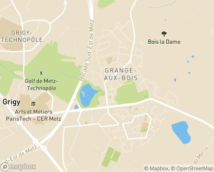 Localisation EHPAD Résidence La Grange-Aux-Bois - Amapa - 57070 - Metz