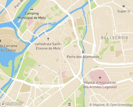 Localisation AIEM - Association d'Information et d'Entraide Mosellane - 57070 - Metz