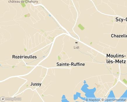 Localisation EHPAD Saint-Joseph - 57130 - Jouy-aux-Arches