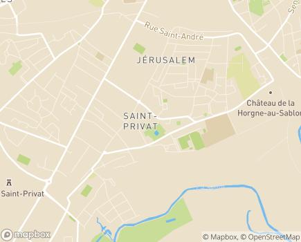 Localisation Résidence EHPAD Les Acacias - Amapa - 57950 - Montigny-lès-Metz