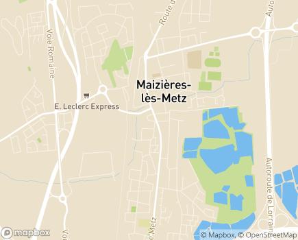 Localisation Domitys La Rose du Beffroi - Résidence avec Services - 57280 - Maizières-lès-Metz