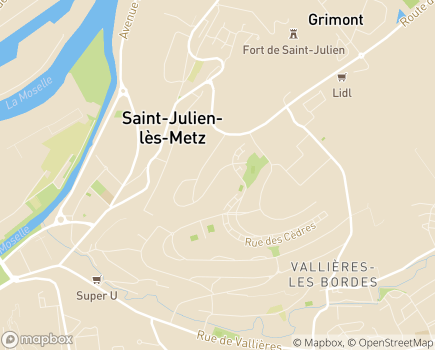 Localisation Colisée - Résidence Saint Julien - 57072 - Saint-Julien-lès-Metz