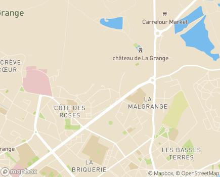 Localisation Domitys Le Pavillon de Diane  - Résidence avec Services - 57100 - Thionville