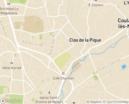 Localisation Le Cercle des Aînés Nevers - 58000 - Nevers