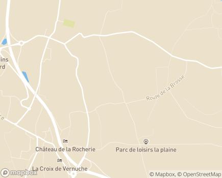 Localisation Centre de Moyen et Long Séjour de Pignelin - 58641 - Varennes-Vauzelles