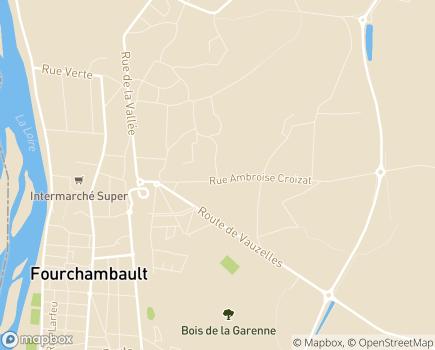 Localisation La Maison des Verdiaux EHPAD - Adef Résidences - 58600 - Fourchambault