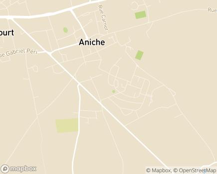 Localisation Résidence Autonomie La Sérénité (Fondation Partage et Vie) - 59580 - Aniche