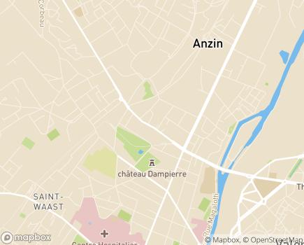 Localisation APEI du Valenciennois Les Papillons Blancs - 59410 - Anzin