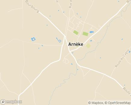 Localisation EHPAD Résidence Van Kempen - 59285 - Arnèke
