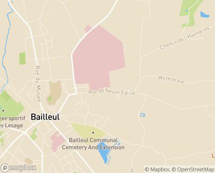 Localisation Centre de Rééducation et de Réadaptation Clair Séjour - 59270 - Bailleul