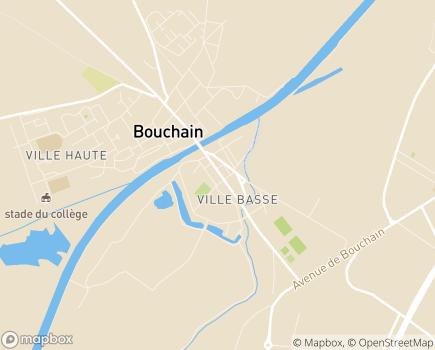 Localisation Maison de Retraite Dronsart - 59111 - Bouchain