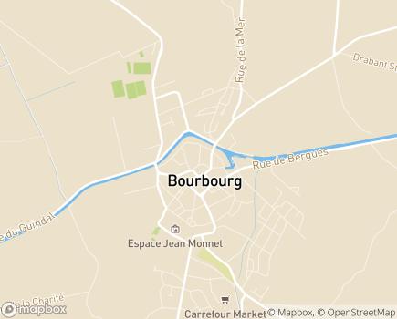 Localisation EHPAD Fondation Shadet Vercoustre - 59630 - Bourbourg