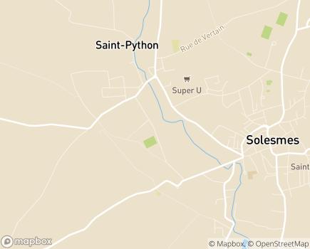 Localisation LADAPT Les Abeilles Centre de Soins de Suite Réadaptation - 59730 - Briastre