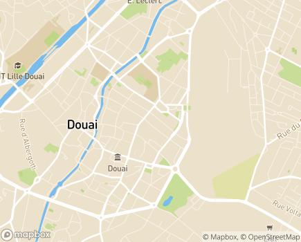 Localisation EHPAD Fondation Sainte Marie GROUPE SOS Seniors - 59500 - Douai