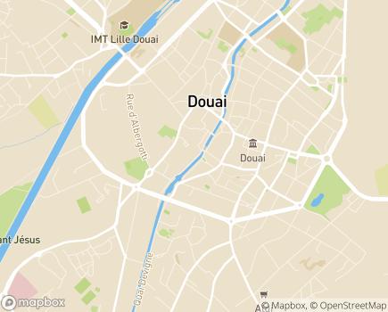 Localisation Résidence Médicalisée Le Jardin des Augustins - Floralys résidences - 59500 - Douai