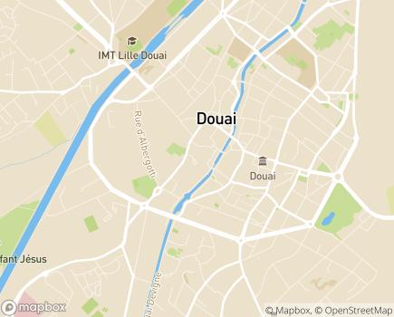 Localisation Résidence Autonomie La Fonderie (Fondation Partage et Vie) - 59500 - Douai