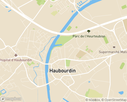 Localisation EHPAD Résidence Jean de Luxembourg - 59320 - Haubourdin