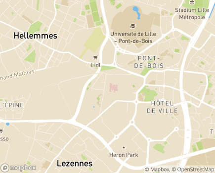 Localisation L'Espoir, Centre de Rééducation et Réadaptation Fonctionnelles Spécialisées - 59260 - Hellemmes