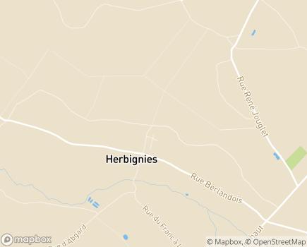 Localisation EHPAD Résidence Les Jardins d'Iroise - 59530 - HERBIGNIES VILLEREAU