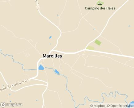 Localisation Résidence La Colombière - 59550 - Maroilles